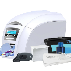 ID Card Printer System: Full Color and Monochrome