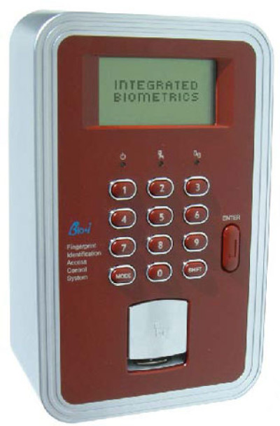 Integrated Biometrics Bio-i Networked Access Control System