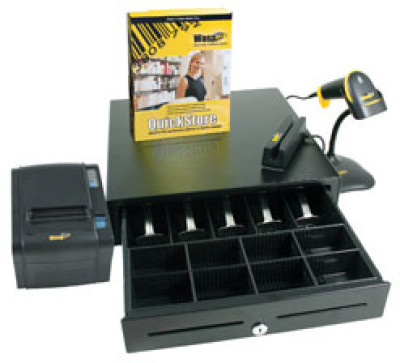Wasp QuickStore POS Hardware & Software Point of Sale System
