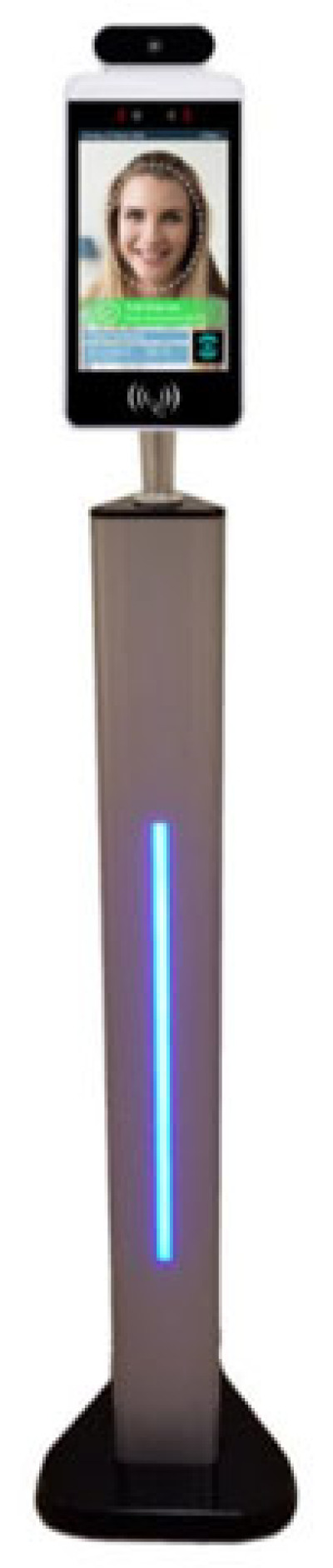 Barcodes Temperature Screening Kiosk ULCD Fixed/Vehicle Mount Data Terminal