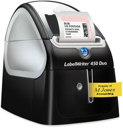 1752267 - Dymo LabelWriter 450 DUO Bar code Printer