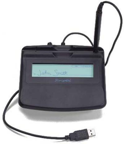 Scriptel Slimline ST1570 LCD Backlit Proscript Signature Capture Pad Accessories