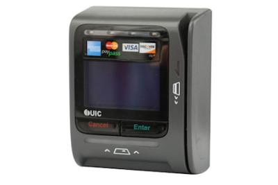 UIC BEZEL 8 Magnetic Stripe Credit Card Reader