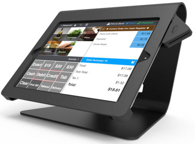 Compulocks Brands Inc. Nollie iPad POS Kiosk Customer/Pole Display
