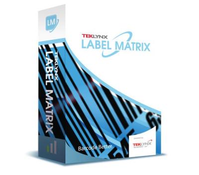 LM19PPN3 - Teklynx LABEL MATRIX 2019 Bar code Software