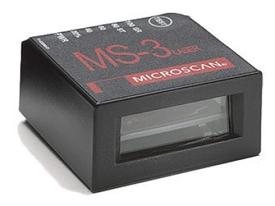 Microscan MS-3 Laser Fixed Mount Barcode Scanner