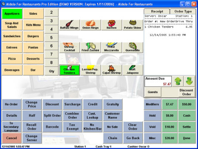 Aldelo For Restaurants: Lite Edition POS Software