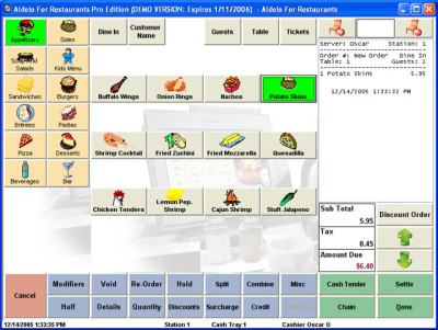 Aldelo Restaurant Software POS Software
