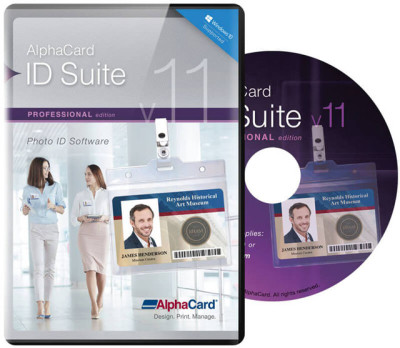 AlphaCard ID Suite Professional ID Card Software