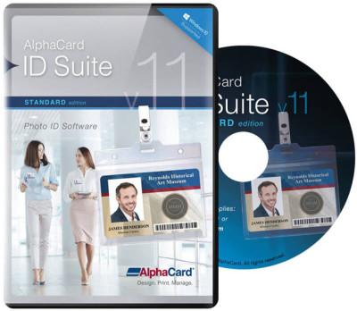 AlphaCard ID Suite Standard ID Card Software