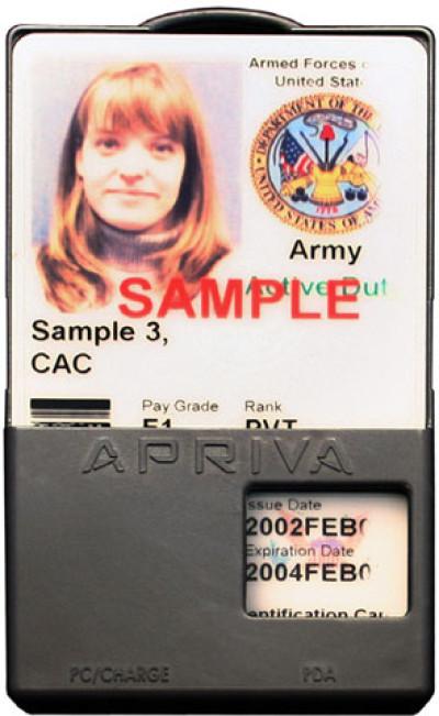 Apriva BT200 Smart Card Reader