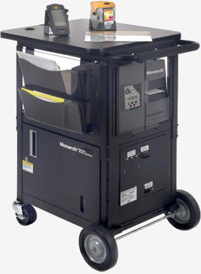 Avery-Dennison 9876 Mobile Workstation Mobile Cart