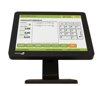 Bematech LE1015 Touch Monitor