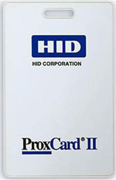 HID 1324 Adhesive Label Plastic ID Card