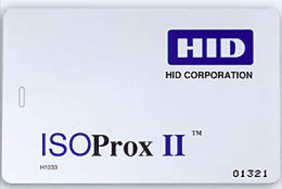 HID 1386 Access Control Card