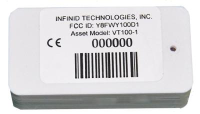 InfinID V-Tag INF-VT100-SH RFID Tag