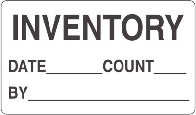 Inventory Inventory Shipping Label