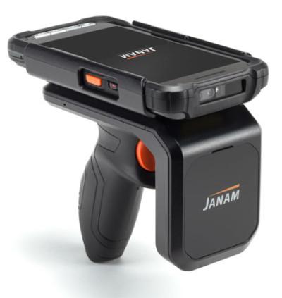 Janam XT2 with RFID Sled