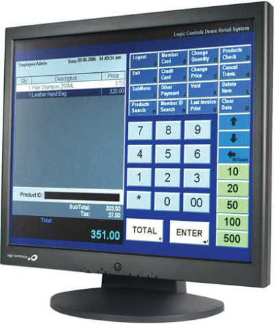 Logic Controls LE1017 Series Touch screen