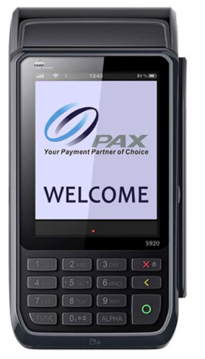 PAX S920 Payment Terminal