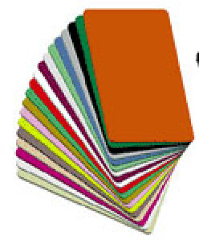 PVC-Cards Colored Vinyl Card Plastic ID Card