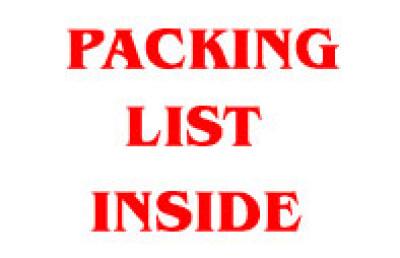 Packing Slip Inside Shipping Label