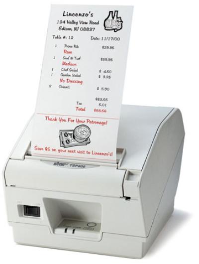 Star TSP800 Printer