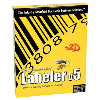 Wasp Bar Code Labeler Bar code Software