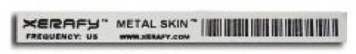 Xerafy Titanium Metal Skin RFID Label