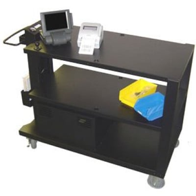 PC495 - Newcastle Systems PC Series Picking Workstation Mobile Cart