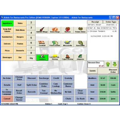 102 - Aldelo Aldelo for Restaurants Lite POS Software