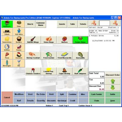 101 - Aldelo Aldelo for Restaurants Pro POS Software