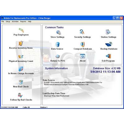 203 - Aldelo Kitchen Display Server POS Software