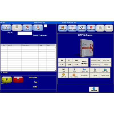 165 - CAP Software Cash n Carry POS Software