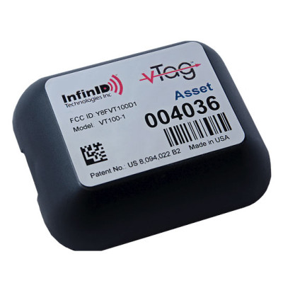 INF-VT100-A6-TAA - InfinID V-Tag TAA compliant RFID Tag