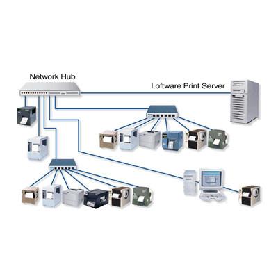 030756NT-ACS - Loftware LPS Print Server 10 Bar code Software