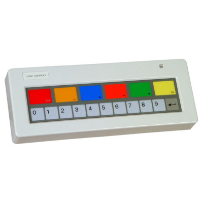 KB1700P-D-BK - Logic Controls KB1700 Programmable Keypad POS Keyboard