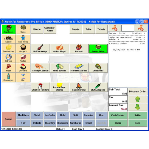 Aldelo Restaurant Software POS Software