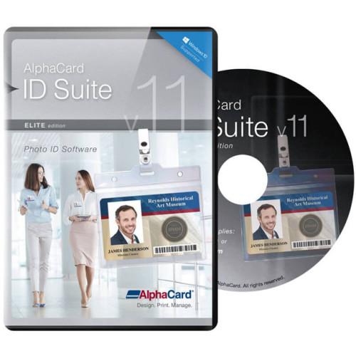 AlphaCard ID Suite Elite ID Card Software