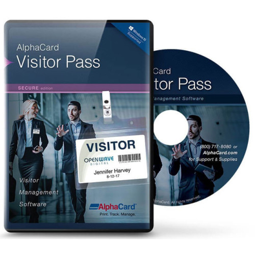 VP-SECURE-YEARLY - AlphaCard Visitor Pass Secure