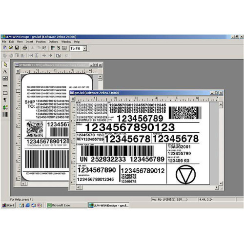 04225732-UP - Loftware Label Manager 10 Bar code Software