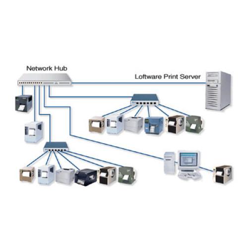 030756NT02RFID - Loftware Print Server Starter Edition 10 Bar code Software