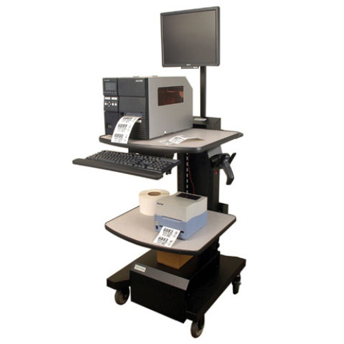 Newcastle Systems Parts Mobile Cart