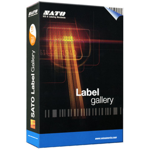 WL3SS004E - SATO Label Gallery Plus Bar code Software