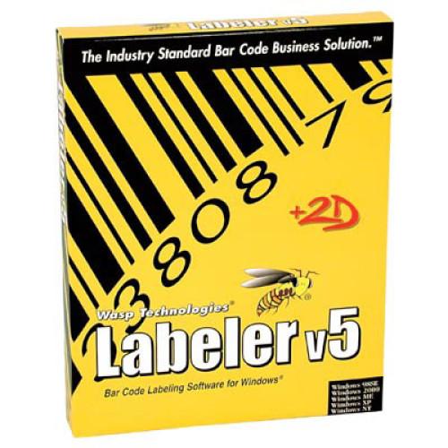 Wasp Bar Code Labeler Bar code Software