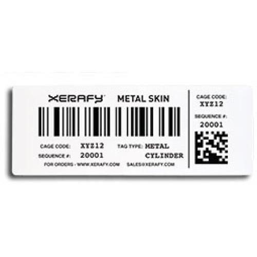 X50A0-GL100-M4 - Xerafy Mercury Metal Skin RFID Tag